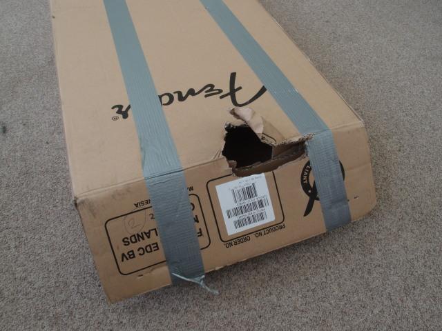 Uszkodzony karton